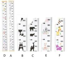 Wooden Height Growth Chart Measure Wall Animal Decal Sticker Kids Baby Nursery