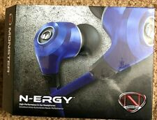 Monster N-ERGY High Performance In-Ear Headphones With Control Talk