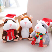 Cheeky Hamster Doll Talking Mouse Pet Sound Record Christmas Electric Plush Toy