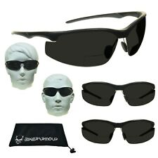 Z87 Safety Bifocal ANSI Sport Sunglasses Adjustable Nose Piece Cycling Outdoor