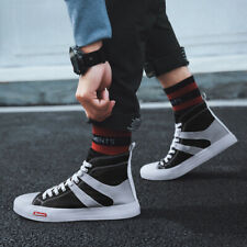 Mens Casual Shoes Sneakers Running Shoes Fashion Outdoor High top Hiking Tide