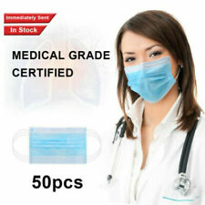 1-100pcs New Disposable Face Surgical Medical Dental Industrial  LOT N9  ke