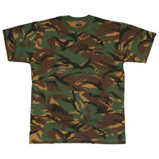 DPM CAMO TEE MIL-COM BRITISH ARMY MENS COMBAT T-SHIRT MILITARY STYLE TOP S-XXL