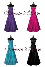 P81 Prom Party Evening Dress Ball Gown Size 8 10 12 14