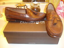 Florsheim Olamon Cognac Leather Shoes 8 8.5 10 Nice!