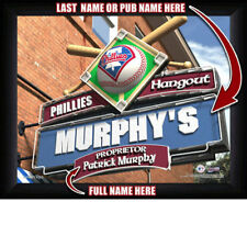 Personalized Baseball Sports Pub / Bar Print - MLB