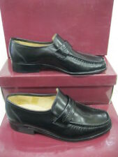 "Grenson Gents Black Leather Shoes ""WATFORD"""