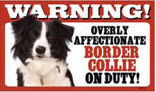 Flexible Dog Pet Warning Signs - Breeds A to C
