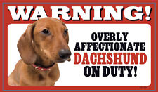 Flexible Dog Pet Warning Signs - Breeds D to N