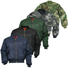 BLOUSON MA1 AVIATEUR BOMBERS SECURITE OUTDOOR NATURE AGENT VIGILE SECURITE