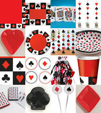 CASINO CARD NIGHT POKER PARTY ITEMS ALL IN ONE LISTING