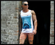 MENS SINGLET TANK TOP FASHION FESTIVAL SIZE S M L XL