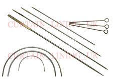 High Quality Upholstery Needles Tools Made In The UK - DIY Supplies Free Post