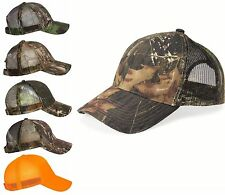 Outdoor Cap NEW Men Cool Mesh Camo Hat Mossy Oak Realtree APG HD Timber One Size