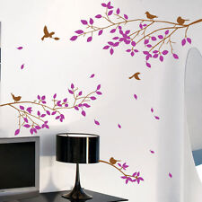 Large Tree Branches Birds Wall Art /  Wall Stickers / Wall Decals / Wall Murals