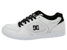 DC - UNION Mens Shoes (NEW) Size 8 : SKATE FOOTWEAR White / Black  FREE SHIPPING