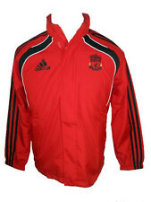 Liverpool Adidas red genuine children shower proof football training jacket 2010