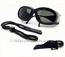 Motorcycle Coverover Over Glasses Goggles Ski Foam Padded Sunglasses Fit Over RX