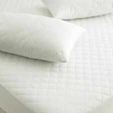 QUILTED MATTRESS PROTECTOR, SINGLE DOUBLE KING SUPER KING FITTED MATTRESS COVER