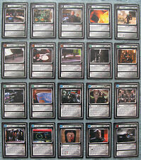 Star Trek CCG Blaze of Glory Uncommon Cards 1 - 20, Part 1/2 (1E)