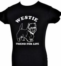 Westie Dog Lover  Pets Funny Mens Ladies T-Shirt Size S-XXL