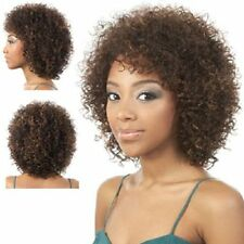SK-REVO MOTOWN TRESS SYNTHETIC SIMPLE CAP SHORT CURLY WIG MOTOWNTRESS