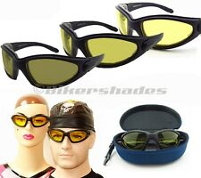 Transition photochromic sunglasses glasses clear to smoke yellow to dark brown