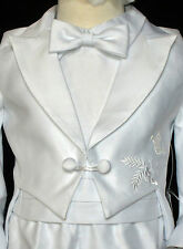 Baby Boy Communion Christening Baptism Outfit Tuxedo Suit size XS SM L XL(0-24M)