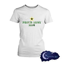Proud Army Mom - Military Mother Supporter Ladies T-Shirt