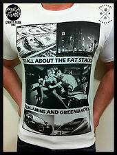MENS FASHION T SHIRT YOUNG CASH MONEY TATTOO MMA SEXY DEATH BY UNIT ALL SIZES