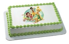 Disney Fairies Tinkerbell Edible Cake OR Cupcake Toppers Decoration by DecoPac