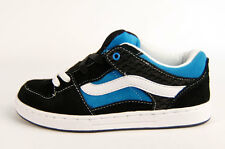 VANS BAXTER WAFFLE KIDS TRAINER black-white-blue  ****SALE***
