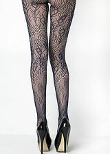 Fashion Mic Women's Peacock Feathers Colorful Fishnet Pantyhose
