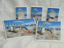 Tropical Beach Shells in a Basket Light Switch Cover Plate Outlet GFI Double