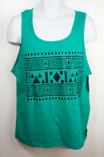 Men Cool Hipster Graphic Aztec Fashion Tank Top Multi Color In Control Clothing