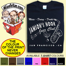 "ON THE ROAD inspired ""Jamson's Nook"" Jack Kerouac LITERARY T-SHIRT: FREE POSTAGE"