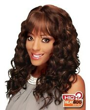 HC-MEEKA BY ZURY SYNTHETIC HAIR SPORTY CAP WIG LONG CURLY STYLE