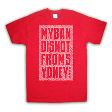 MY BAND IS NOT FROM SYDNEY FASHION IRONIC SLOGAN KIDS T SHIRT ALL SIZES & COLS