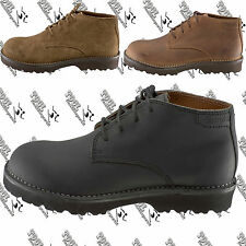 SIMPLE 9882 9883  MENS WOMENS NEW CHUCKIE CHUKKA MID LEATHER BOOT SHOE W8.5 M7