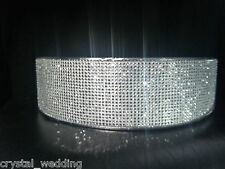 Crystal effect cake riser / tier separaters  for wedding or engagment cake