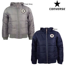 Brand New Childrens Converse Hooded Puffa Jacket