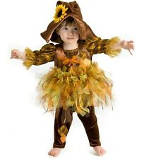 Scout the Scarecrow Costume toddlers baby sunflower hat tutu 6M 12M 18M 24M 2T
