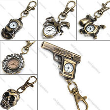 Fashion Band Men Kids Women's Mini Keychain WATCH Xmas Gift