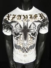 NWT! Mens XZAVIER GRAPHIC T Shirt TRUSTED with GOLD Foil!