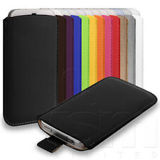 ALL COLOURS SOFT PU LEATHER POUCH CASE COVER SLEEVE FOR HTC DESIRE C PHONE