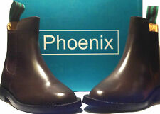 Girls and Ladies Leather Brown Ankle Riding Boots (not leather coated)
