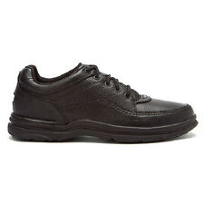 ROCKPORT WORLD TOUR CLASSIC BLACK MEN'S WALKING SHOE ALL SIZES NEW