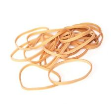 100g RUBBER BANDS ELASTIC BANDS - Assorted or Size 32 = 100g Bags Natural Colour
