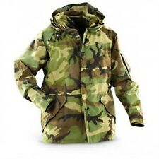 US Military Woodland Camo Goretex ECWCS Cold Weather Parka