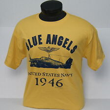US NAVY BLUE ANGELS 1946 F-6 Hellcat Vintage T-shirt